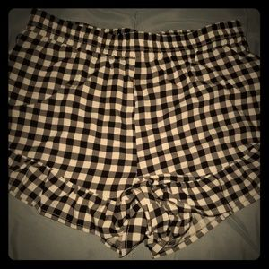 M High Cut Shorts Gingham